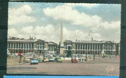 Paris - La Place De La Concorde   - Faa68 - Plazas