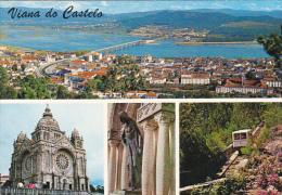 Portugal Viana Do Castelo Aspectos Do Monte De Santa Luzia - Viana Do Castelo