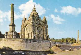 Portugal Viano Do Castelo Church In Saint Lucy Mount - Viana Do Castelo