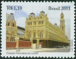 BRAZIL #3167 -  TRAIN STATION OF  LUZ   -   2011 MINT - Nuevos