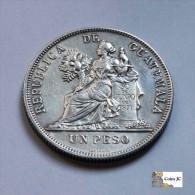 Guatemala - 1 Peso - 1895 - Guatemala