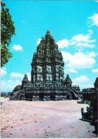 Indonesia, PRAMBANAN TEMPLE NEAR YOGYAKARTA, Used Postcard [14520] - Indonesia