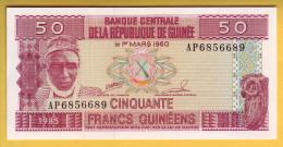 GUINEE - Billet De 50 Francs. 1985. Pick: 29a. NEUF - Guinea
