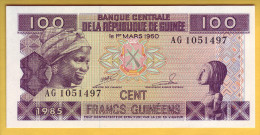 GUINEE - Billet De 100 Francs. 1985. Pick: 30a. NEUF - Guinée