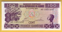 GUINEE - Billet De 100 Francs. 1985. Pick: 30a. NEUF - Guinea