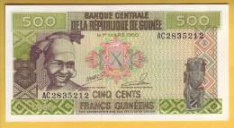 GUINEE - Billet De 500 Francs. 1985. Pick: 31a. NEUF - Guinée
