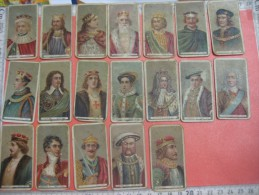 17 Cigarette Cards 1902 Kings - Will´s Cigarettes - Used, Chidren Have Played With These For Years Probably RARE To Find - Autres