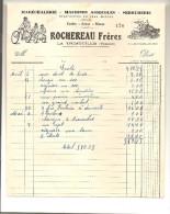 Rochereau Frères Maréchalerie Machines Agricoles Serrurie Cycles Autos Et Motos à La Trimouille (86) Des Années 1940 - Agriculture