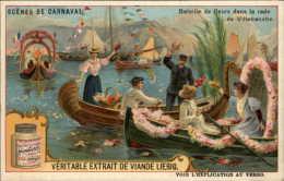 CARNAVAL - Série De 6 Chromos LIEBIG - Scènes De Carnaval à Villefranche, Milan, Orizaba, San Francisco, Etc - Liebig