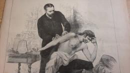 1885 VACCINATION DU CHOL�RA EN ESPAGNE DR FERRAN  - LA MOISSON - L�ECHO DU NORD