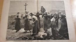 1885 LE PARDON DE PLOUMANACH - LES BARBIERS ET RACCOMODEURS AMBULANTS DE CANTON - L�ECHO DU NORD