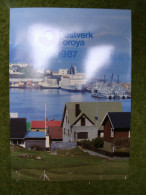 A2951) Faröer Folder Kpl. 1987 ** Unused - Féroé (Iles)