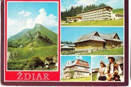 Slovakia, ZDIAR, Used Postcard [14542] - Slovakia
