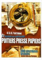 86  -  7 EME FESTIVAL DES EXPRESSIFS  -  POITIERS PRESSE PAPIERS   -  POITIERS  -  CPM PUBLICITAIRE - Publicité