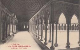 CPA Le Mont Saint-Michel - Le Cloître - Le Mont Saint Michel