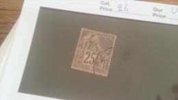 LOT 236708 TIMBRE DE COLONIE REUNION OBLITERE N�24