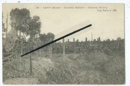 CPA -  Cappy -Cimetière Militaire- Cimetery Military - Otros Municipios