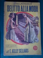 Gialli Mondadori - Delitto Alla Moda - 17 Nov. 1951 N°146. - Livres, BD, Revues