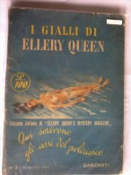 Gialli Di Ellery Queen - N° 8 - 21 Agosto 1950. - Non Classificati