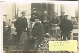 ARDENNES 08.SAINT ST QUENTIN LE PETIT  CARTE PHOTO SOUVENIR DES AMIS DE ST QUENTIN LE PETIT 1921 - France