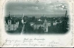 GERMANY THURINGIA LANGENSALZA 1898 VINTAGE POSTCARD - Bad Langensalza