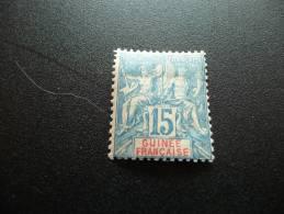 TP Colonies Françaises. Guinée Française. N°6. Valeur 17€. Charnière - Non Classés