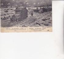 CARTE 1914-15-EN BELGIQUE -YPRES -CONVOI DE RAVITAILLEMENT- - Weltkrieg 1914-18