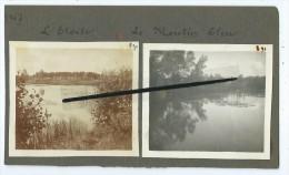 2 Photos Collées Sur Carton - L'Etoile - Le Moulin Bleu - Photos