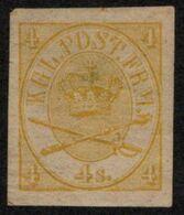 DEN SC #13 MLH 1864 Royal Emblems (color Proof, Wmk.) - 1864-04 (Christian IX)