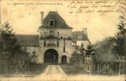 N°107 AAA1-94 DOURDAIN  ENTREE DU CHATEAU DU PLESSIS - France