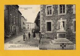 Pinols - Le Monument Aux Morts - Haute Loire Illustrée 6870 - Tres Animé - Ohne Zuordnung