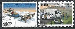 Groënland 2013, N°609/610 Oblitérés, Europa - Greenland