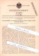 Original Patent  -  Deutsche Triumph-Fahrrad-Werke AG In Nürnberg , 1900 , Tretlager , Fahrräder !!! - Transport