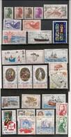 Saint Pierre Et Miquelon Années 1986/1989 Lot De Timbres Côte : 43,00 € - Collections, Lots & Séries