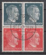 Deutsches Reich - Zusammendrück S278 (o) - Se-Tenant