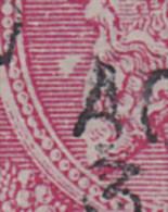 46 - BASCOUP / TACHE TRIANGULAIRE DEVANT Le MENTON - 2 Scans - Variétés Et Curiosités