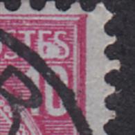 """N° 46 - TACHE BLANCHE Sur """"E"""" """"S""""  / Anvers - 2 Scans - Variétés Et Curiosités"""