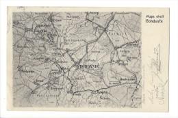 10956 - Mapa Okolf Bohdance Bohdanec - Tchéquie
