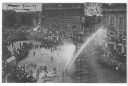 Carte-photo Valenciennes (59) - Concours International Des Sapeurs-pompiers - 9-10 Juin 1907. B. état, A Circulé - Valenciennes