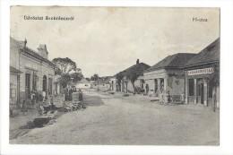 10957 - Üdvözlet Szobranczrol Fö-utca - Hungary