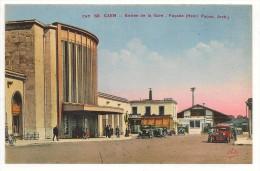 14 - CAEN - Entrée De La Gare - Façade (Henri Pacon, Architecte) - éd. CAP N° 68 - Caen