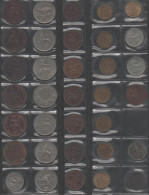 GRANDE-BRETAGNE Lot De 34 Pièces De Monnaie Anciennes / Coin / Münze (07) - Collezioni