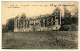 Le Chateau  ( Façàde Nord )         Plan Peu Courant ..... Année 1920 - Marchin
