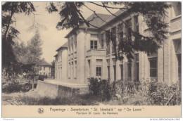 Poperinge 2 pk  Sanatorium  St Idesbald op de Lovie  Paviljoen St-Louis,de wachtzaal