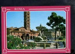 J904 Roma, Basilica Di Santa Maria In Cosmedin  - Basilique, Basilika, Chiesa, Eglise, Kircke - Used 1988 - Chiese E Conventi