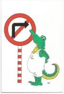 K2221 Esperanto - Krokodili Coccodrillo Crocoile - Illustrazione Illustration / Non Viaggiata - Esperanto