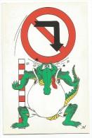K2223 Esperanto - Krokodili Coccodrillo Crocoile - Illustrazione Illustration / Non Viaggiata - Esperanto