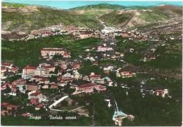 K2233 Fiuggi (Frosinone) - Vista Aerea Aerial View Vue Aerienne / Viaggiata 1963 - Altre Città