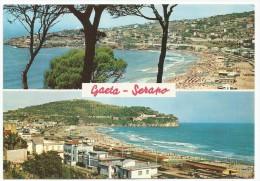 K2236 Gaeta (Latina) - Panorama Con Veduta Della Spiaggia Di Serapo / Viaggiata 1969 - Altre Città