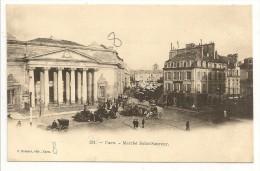 """14 - CAEN - Marché Saint-Sauveur - éd. J. Bréchet Caen - Cpa """"précurseur"""" - Caen"""